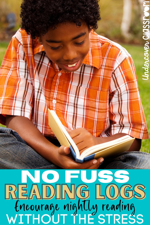 No Fuss Reading Logs