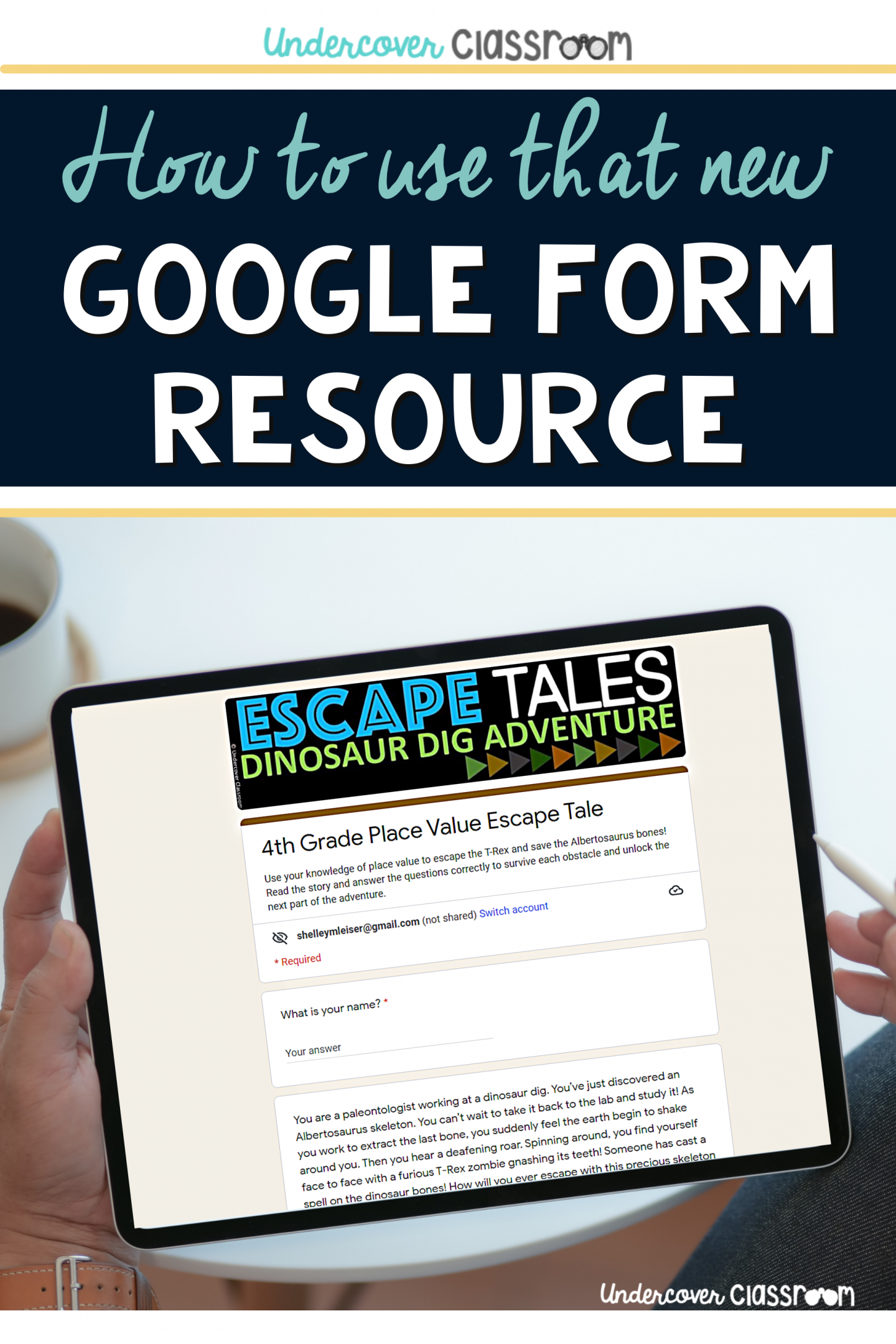 How to use that new google form